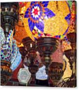 Pendants Bazaar Canvas Print