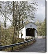 Pengra Covered Bridge Canvas Print