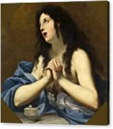 Penitent Saint Mary Magdalene Canvas Print