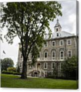 Penn State Old Main From Side  Canvas Print