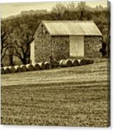Pennsylvania Barn Canvas Print