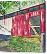 Pennsylvania Bridge To Nowhere Canvas Print