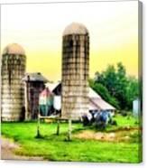 Pennsylvania Farming  Canvas Print