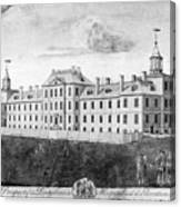 Pennsylvania Hospital, 1755 Canvas Print