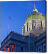 Pennsylvania State Capitol Canvas Print