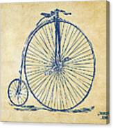 Penny-farthing 1867 High Wheeler Bicycle Vintage Canvas Print