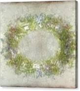 Penny Postcard Rustic Canvas Print