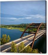 Pennybacker Bridge 1 Canvas Print