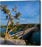 Pennybacker Bridge 2 Canvas Print