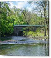 Pennypack Creek Bridge Built 1697 Canvas Print