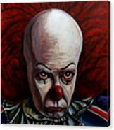 Pennywise 2 Canvas Print