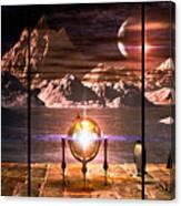 Penquin Magic Canvas Print