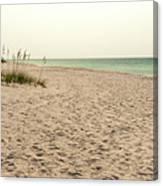Pensacola Beach 2 Panorama - Pensacola Florida Canvas Print