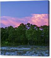 Pensacola Lighthouse Dusk Canvas Print