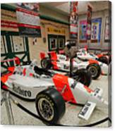 Penske Racing Indy 500 Hall Of Fame Museum Canvas Print