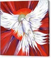 Pentecost Dove Canvas Print