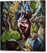Pentecost Canvas Print