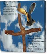 Pentecost Holy Spirit Prayer Canvas Print