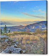Penticton In The Distance Canvas Print