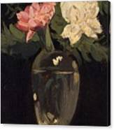 Peonies 1905, By Samuel John Peploe Canvas Print