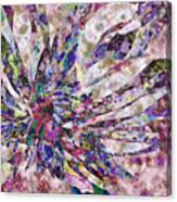 Peony Burst Canvas Print