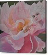 Peony Lamour Canvas Print