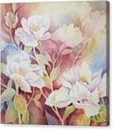 Peony Paradise Canvas Print