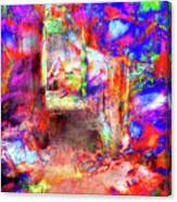 People In Abstract #6 Canvas Print