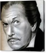 People- Vincent Price Canvas Print
