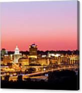 Peoria Downtown Canvas Print