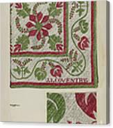 Pepperberry Quilt Canvas Print