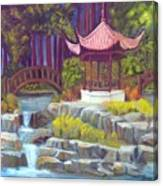 Peppermint Gazebp Canvas Print