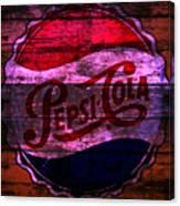 Pepsi Cola 1a Canvas Print