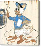 Pepsi Duck Canvas Print