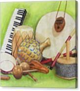 Percussion Canvas Print