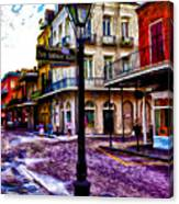Pere Antoine Alley - New Orleans Canvas Print