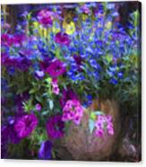 Perennial Flowers Y2 Canvas Print