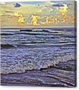 Perfect Beach Evening No.3 Canvas Print