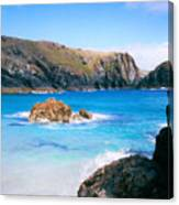 Perfect Blue Water Canvas Print