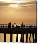 Perfect Day To Fish Canvas Print