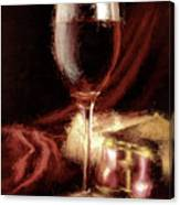 A Perfect Glass Of Wine Canvas Print