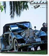Perfect Packard Canvas Print