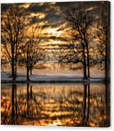 Perfect Sunset Canvas Print