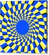 Peripheral Drift Illusion  Canvas Print
