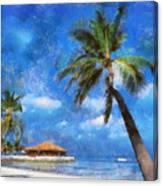 Permanent Vacation Canvas Print