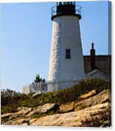 Permaquid Lighthouse Canvas Print