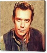 Pernell Roberts, Vintage Actor Canvas Print