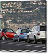 Perpendicular Parking Canvas Print