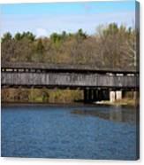 Perrine's Bridge In Spring #2 Canvas Print