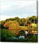 Perry Reflection Photo Canvas Print
